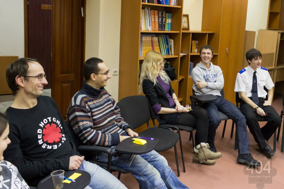 404 – Unknown Pages meeting in Kharkiv. © 404 – Unknown Pages