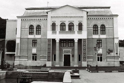 Vizhnitz former synagogue, now a music hall