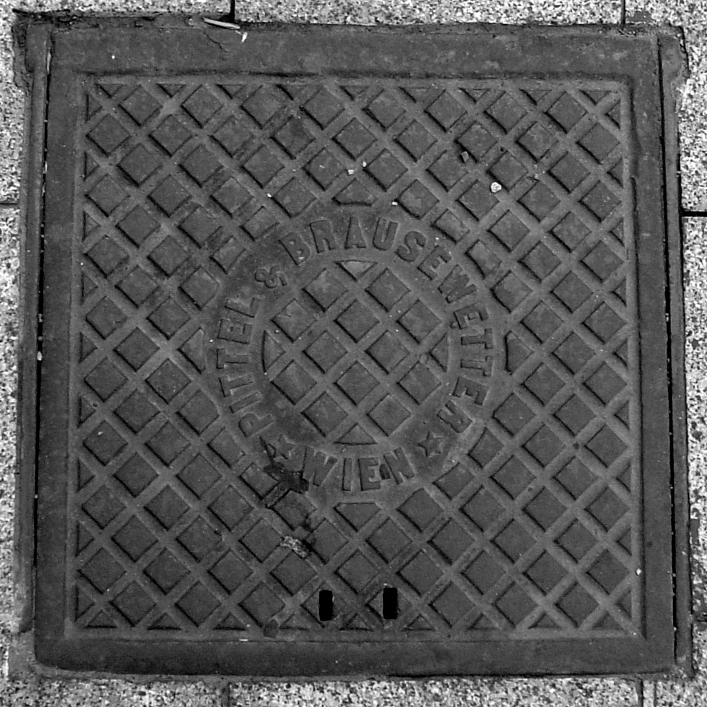 Chernivtsi - manhole from the Austrian periode