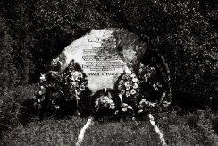 Site of former Yanovska concentration camp - memorial