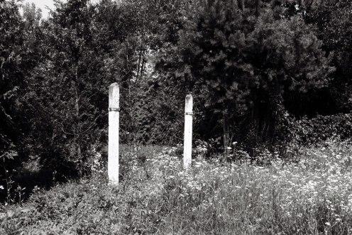 Site of former Yanovska concentration camp - execution ground