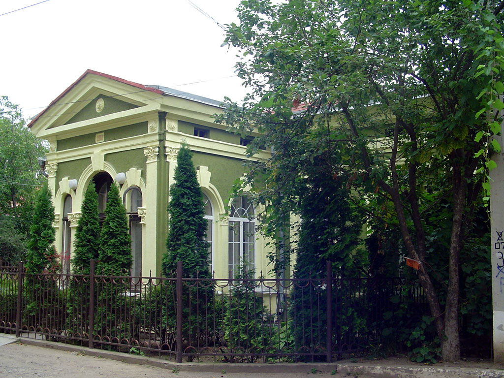 Synagogue in Klara Zetkin Street