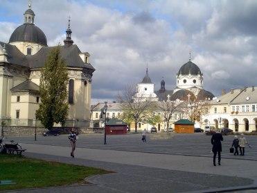 Zhovkva - market square
