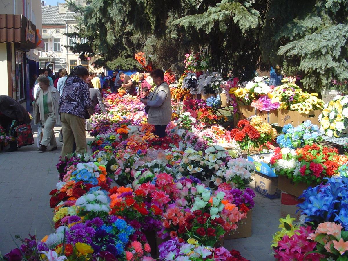Chrortkiv - market