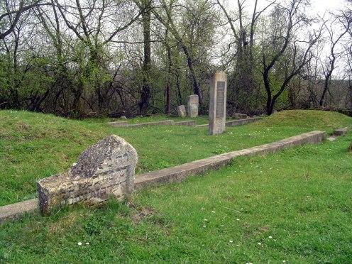 Pidhaitsi - Jewish cemetery, mass grave
