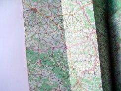 Trip preparations - a map