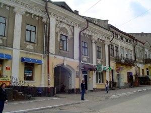 Shtetl architecture from the Habsburg periode in Berezhani