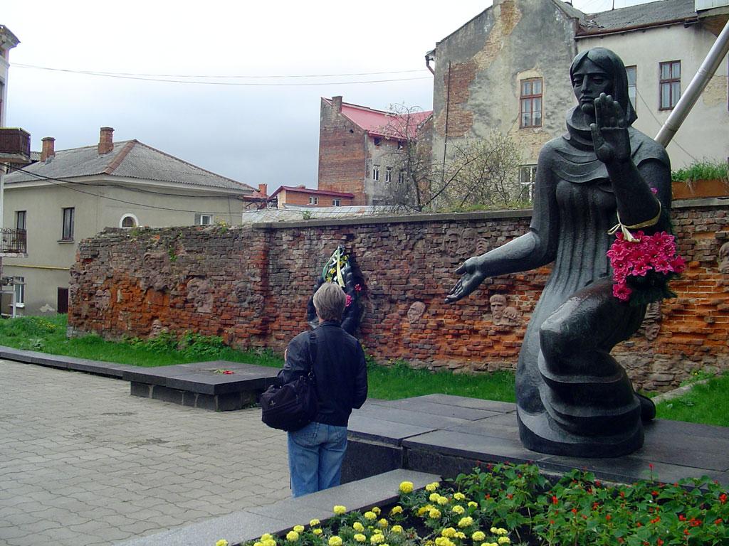 Drohobych - ghetto memorial