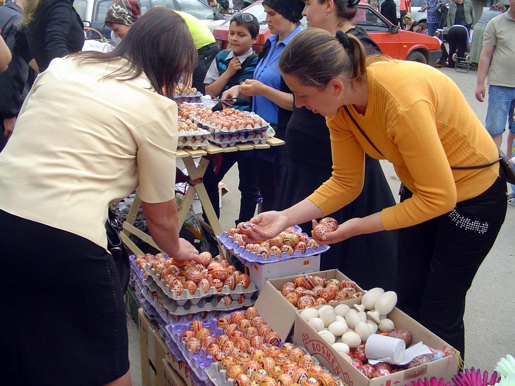 Kolomiya - market