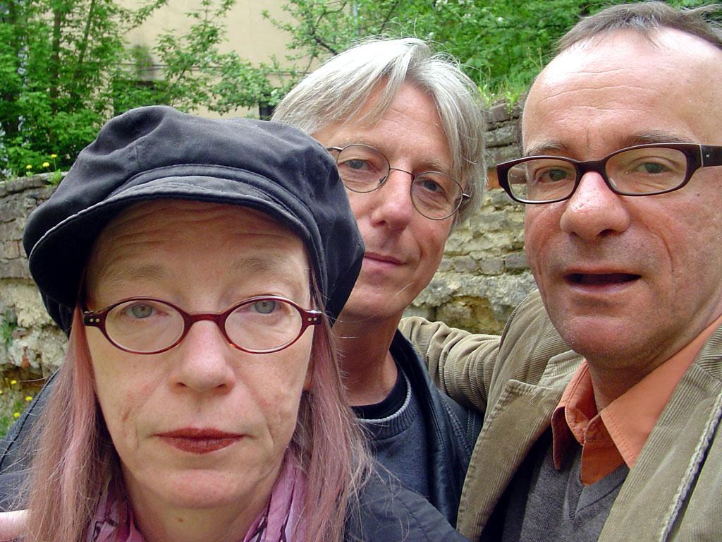 Travel companians: Petra, Achim and I