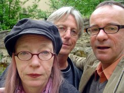 Travel companians: Petra, Achim and I