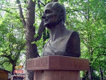 Zabolotiv - monument for Manes Sperber