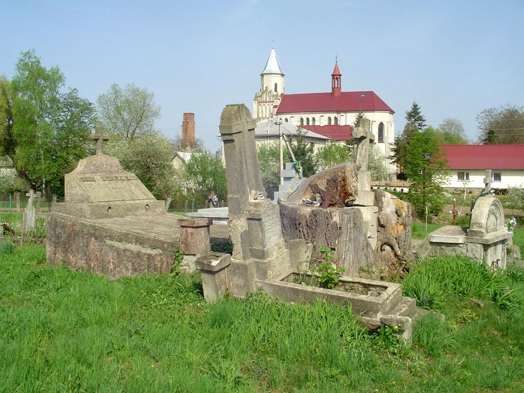 Zabolotiv - Polish cemetery