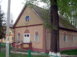 Solotvyn - former German church
