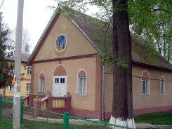 Solotvyn - former German church