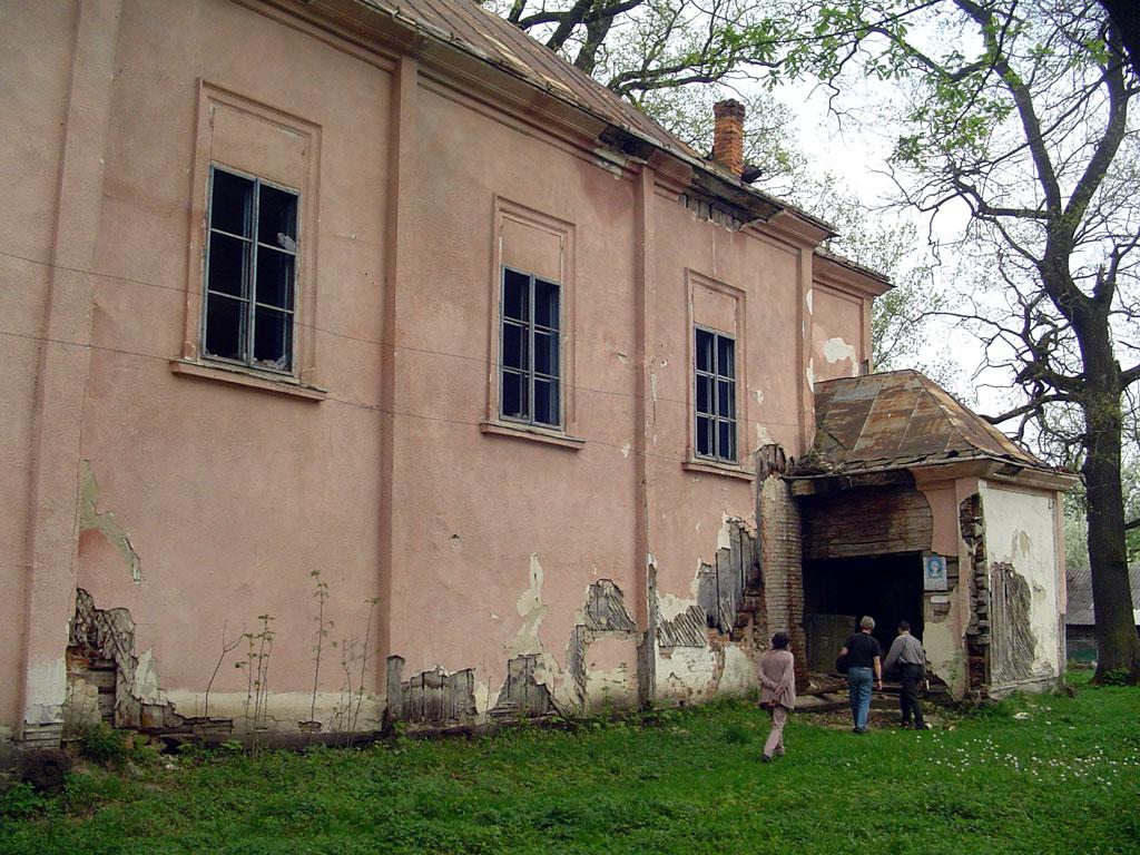 Solotvyn - former Polish church