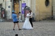 a wedding in preparation