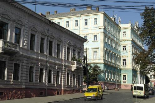 Chernivtsi (Czernowitz) - administration building from Austro-Hungarian periode