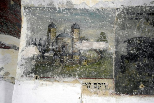 Czernowitz - Groisse Shil - wall paintings
