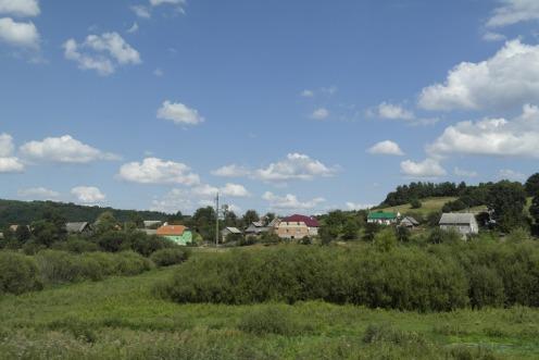 Train through Galicia