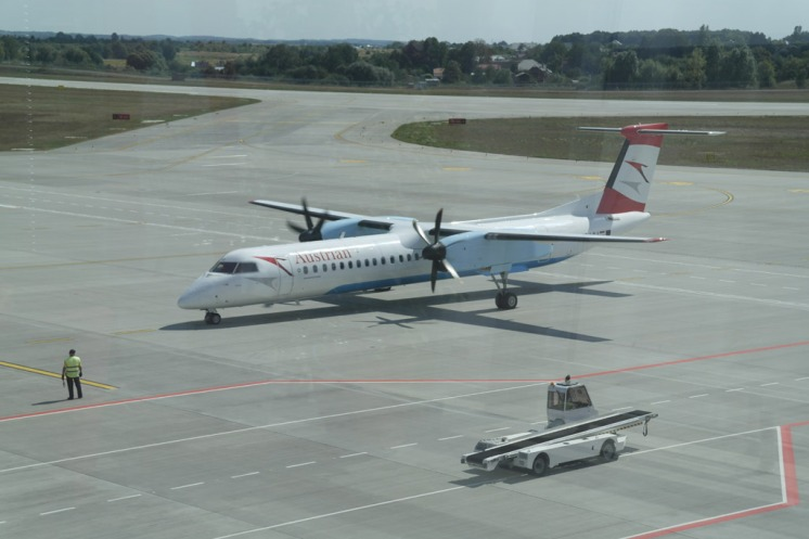 Lviv - Vienna, flight by Ausrian Airlines