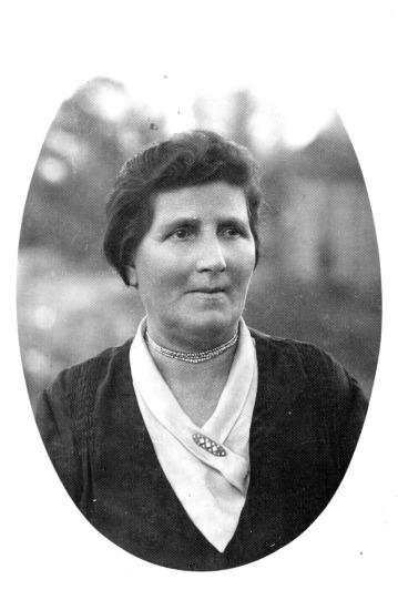 Grandmother Ryfka (Rebeka) Lippman, imprisoned in cinema Collosseum, then shot with hundreds of Jewish citizens of Boryslaw. © Józef Lipman