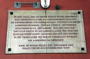 Plaque in Leopoldstadt