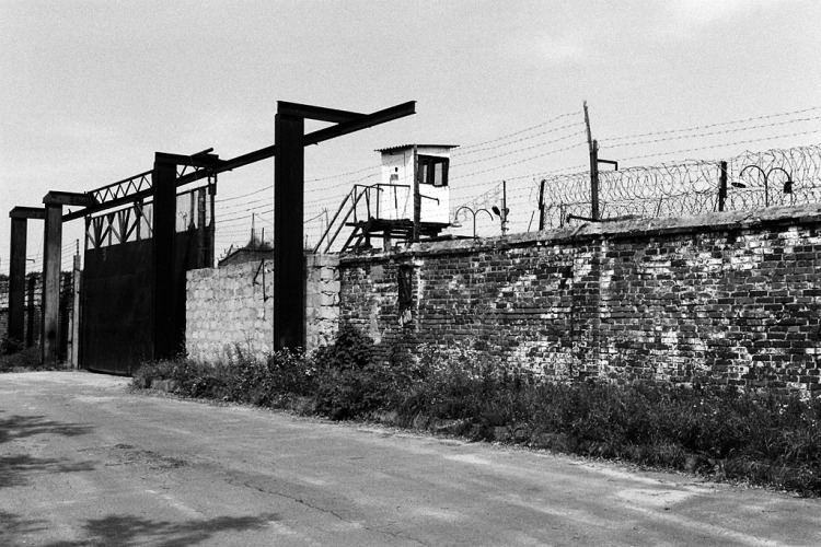 Lviv (Lwow, Lemberg), territory of former concentration camp at Yanovska Road, now an Ukrainian state prison, August 2012