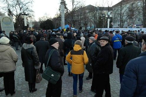 Ternopil - local Euromaidan