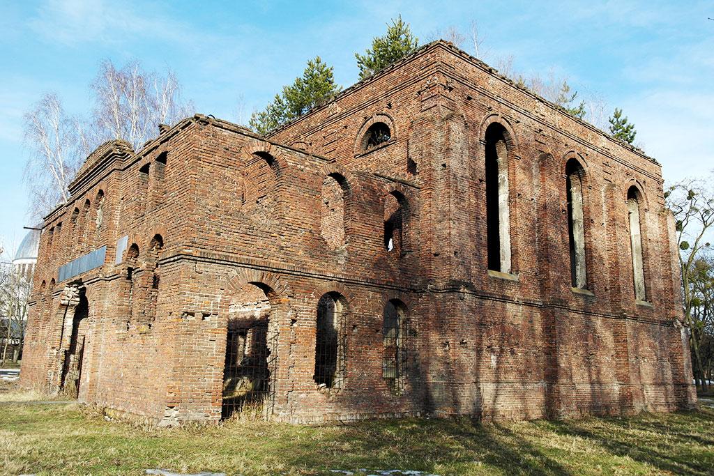 Velyki Mosty - synagogue