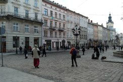 Rynok - market square of Lviv
