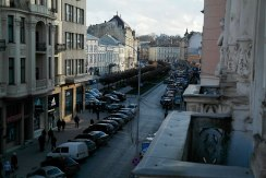 View from my room in George Hotel to Shevchenko Boulevard
