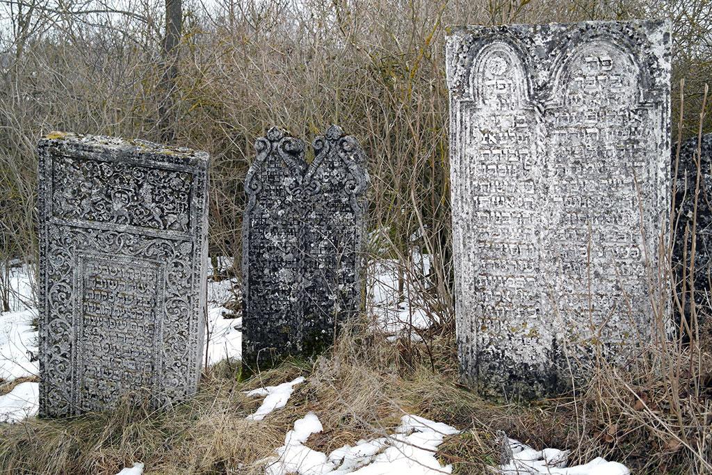 Sataniv - Jewish cemetery