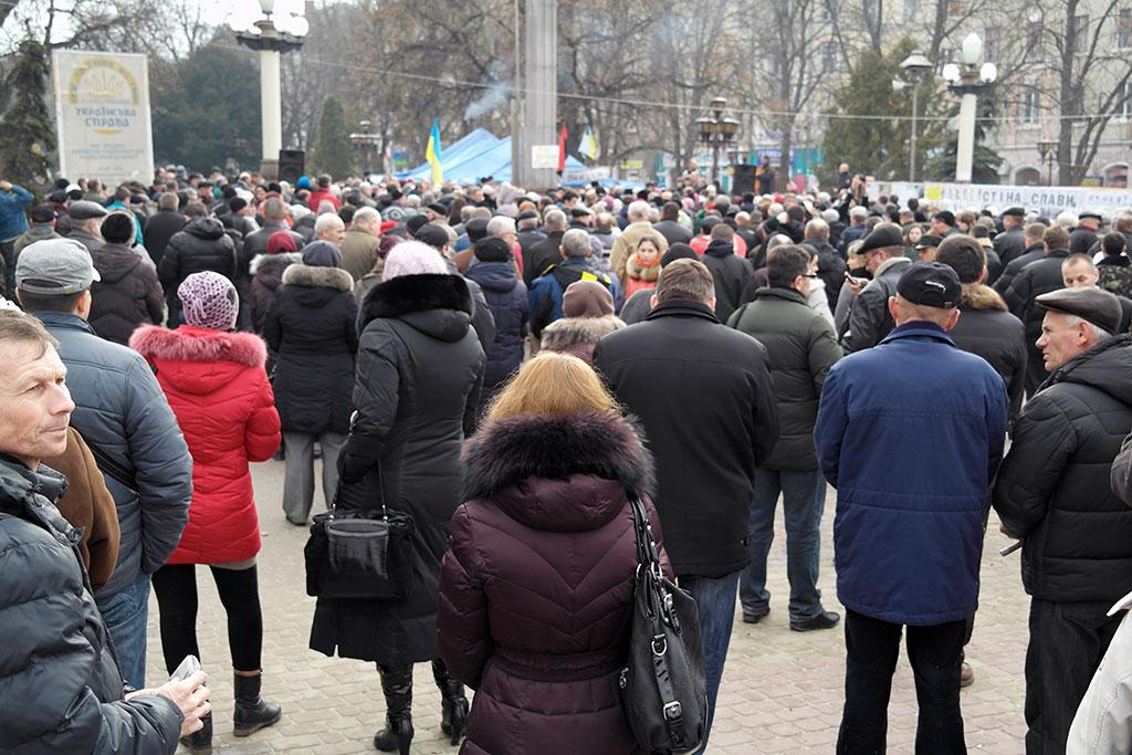 Ternopil - local Maidan