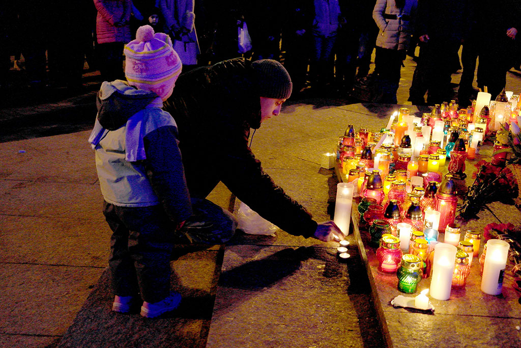 Mourning in Chernivtsi
