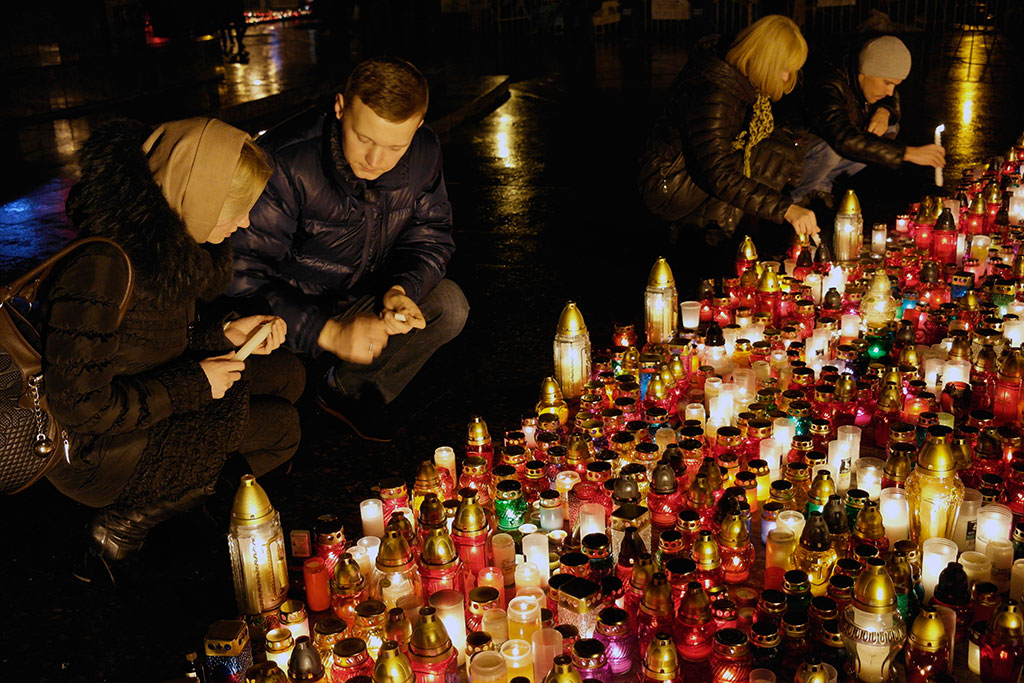 Mourning in Lviv