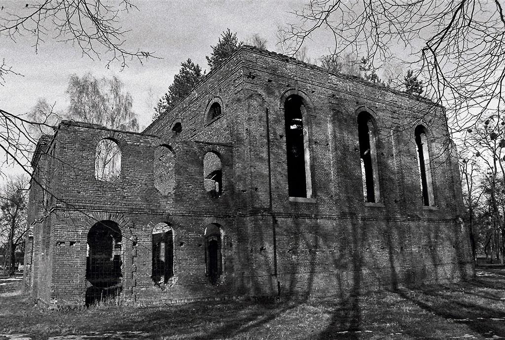 Velyki Mosty, synagogue