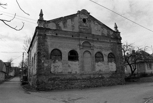 Staryi Sambir, synagogue