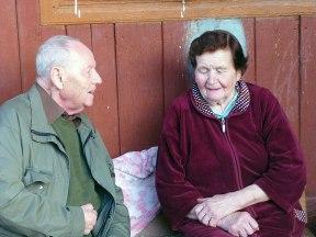 Prof. Lipman and Stefania