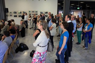 Exhibition opening, Cologne, September 17, 2014. Photo: Ingo Breuer