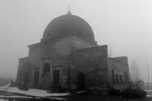 Chernivtsi (Czernowitz), mortuary hall at the Jewish cemetery