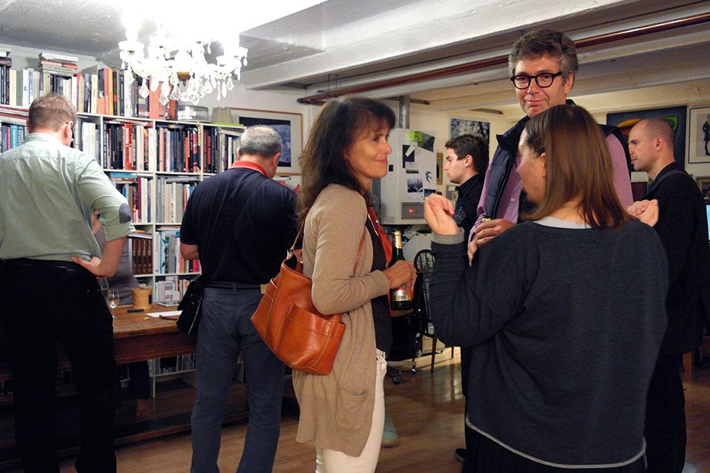 Exhibition opening in Frankfurt