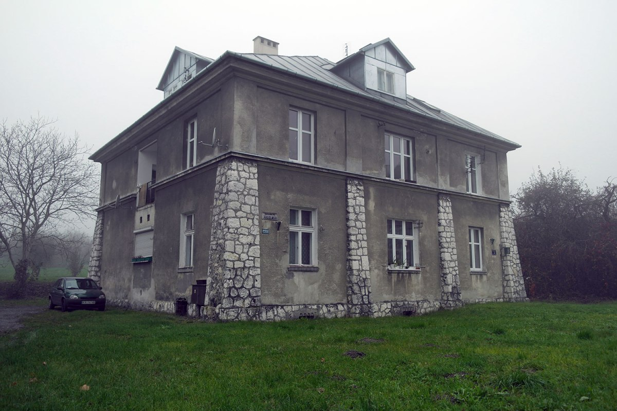 Plaszow - accomodation of the SS guards