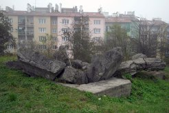 Plaszow - blown up building
