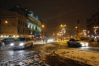 Mickiewicz Square - in front of the George