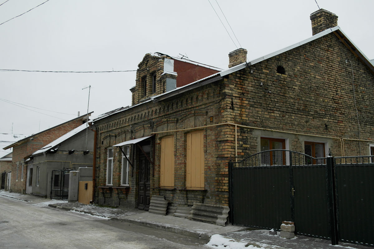 Lutsk - former Jewish district