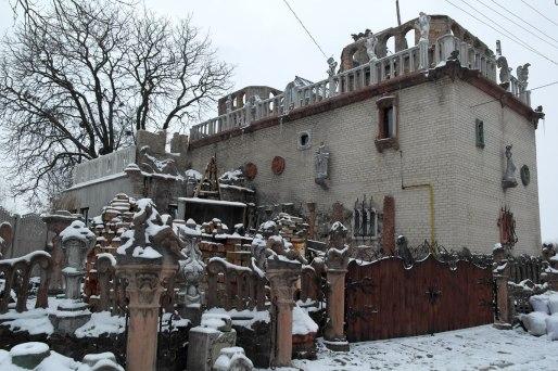 Lutsk - house on an artist