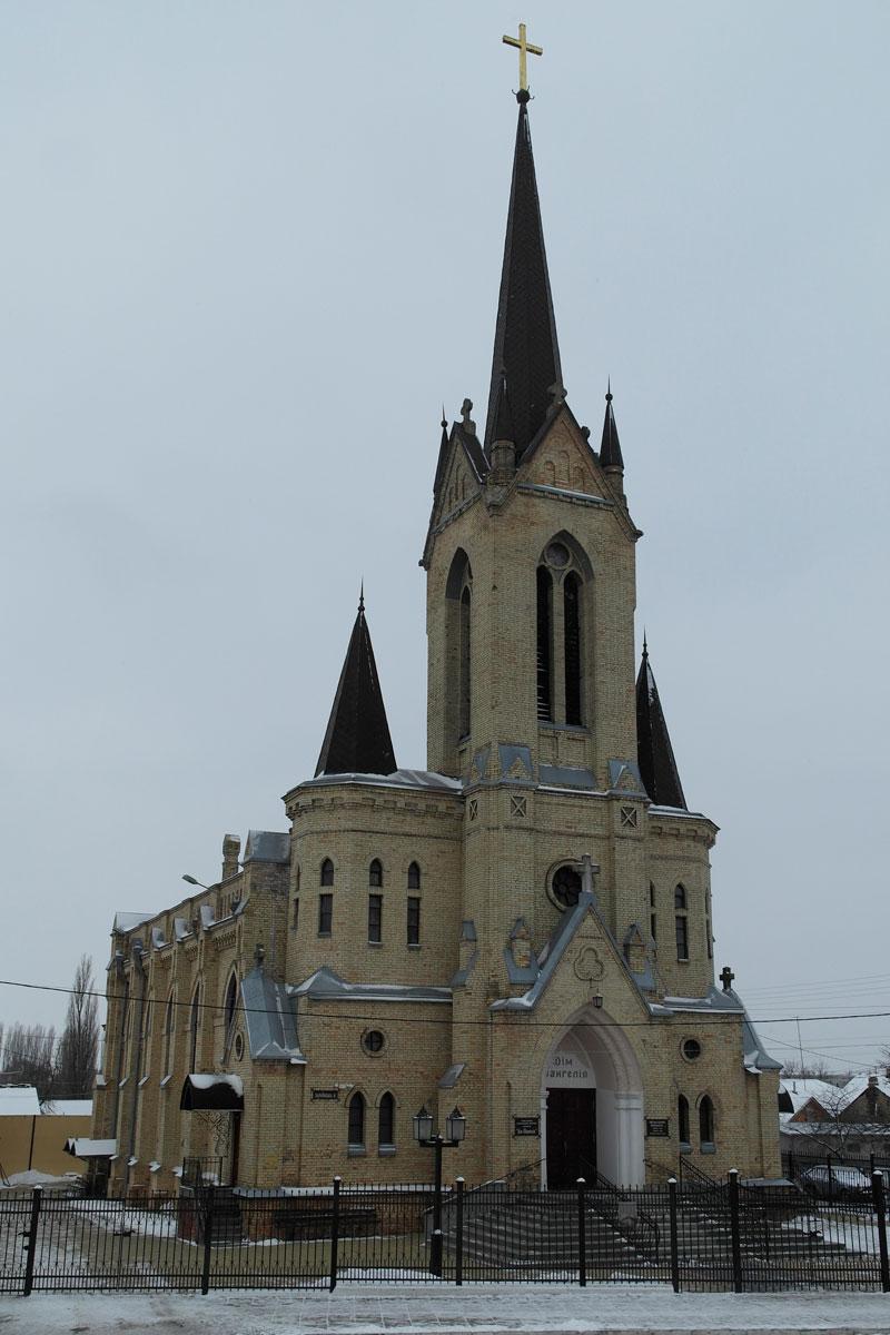 Lutsk - protestant church