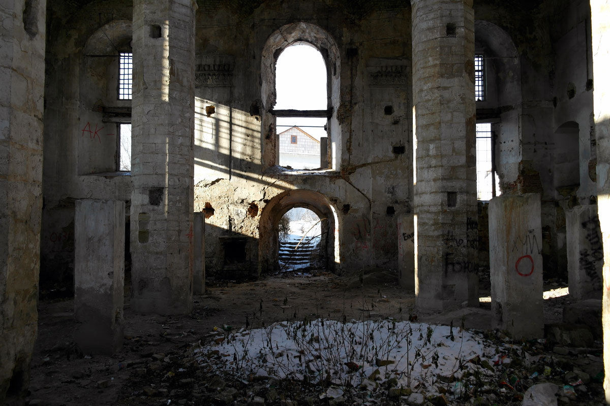 Ostroh synagogue