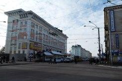 Rivne - main street